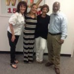 Happy Holidays from Randye, Diana, Nicky, and Milford Edwards our Producer!